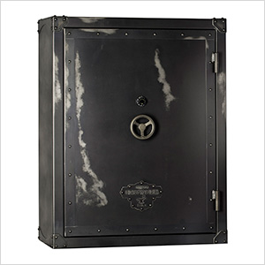 Ironworks 85 Minute Fire Rated 76 Long Gun Safe with Electronic Lock