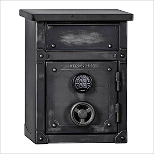 Longhorn Security Safe / End Table / Nightstand