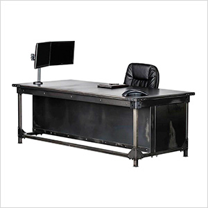 "Ironworks Executive Desk Package - 30"" Tall"