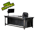 "Rhino Metals Ironworks Executive Desk - 30"" Tall"
