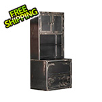 Rhino Metals Ironworks Lateral File Cabinet and Hutch