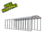 Arrow Sheds RV Carport - 14' x 51' x 14' (Eggshell Roof)