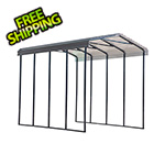 Arrow Sheds RV Carport - 14' x 20' x 14' (Charcoal Roof)