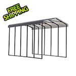 Arrow Sheds RV Carport - 14' x 24' x 14' (Charcoal Roof)