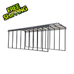 Arrow Sheds RV Carport - 14' x 42' x 14' (Charcoal Roof)