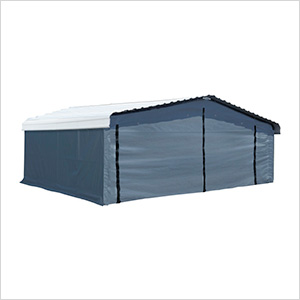20' x 20' Carport Enclosure Kit