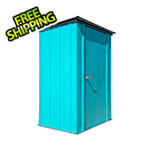Arrow Sheds 4' x 3' Spacemaker Patio Shed (Teal)