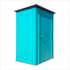 4' x 3' Spacemaker Patio Shed (Teal)