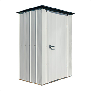 4' x 3' Spacemaker Patio Shed (Gray)