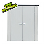 Arrow Sheds 5' x 3' Spacemaker Patio Shed (Gray)