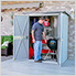 5' x 3' Spacemaker Patio Shed (Gray)