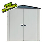 Arrow Sheds 6' x 3' Spacemaker Patio Shed (Gray)