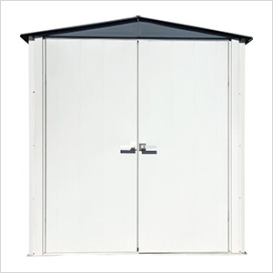 6' x 3' Spacemaker Patio Shed (Gray)
