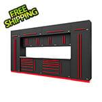 Proslat Fusion Pro 14-Piece Garage Storage System (Barrett-Jackson Edition)