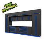 Proslat Fusion Pro 14-Piece Garage Storage System (Blue)