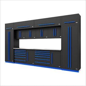 Fusion Pro 14-Piece Garage Storage System (Blue)