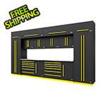 Proslat Fusion Pro 14-Piece Garage Storage System (Yellow)
