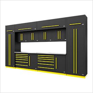 Fusion Pro 14-Piece Garage Storage System (Yellow)