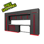 Proslat Fusion Pro 14-Piece Garage Cabinetry System (Barrett-Jackson Edition)