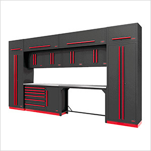 Fusion Pro 14-Piece Garage Cabinetry System (Barrett-Jackson Edition)