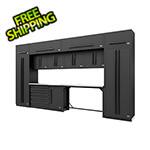 Proslat Fusion Pro 14-Piece Garage Cabinetry System (Black)