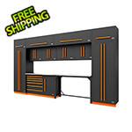 Proslat Fusion Pro 14-Piece Garage Cabinetry System (Orange)