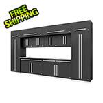 Proslat Fusion Pro 14-Piece Garage Cabinet Set (Silver)