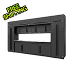 Proslat Fusion Pro 14-Piece Garage Cabinet Set (Black)