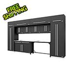 Proslat Fusion Pro 14-Piece Garage Storage Set (Silver)