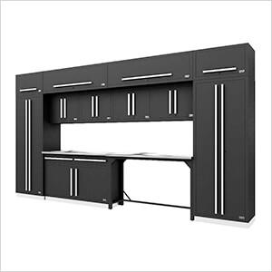 Fusion Pro 14-Piece Garage Storage Set (Silver)