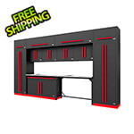 Proslat Fusion Pro 14-Piece Garage Storage Set (Barrett-Jackson Edition)