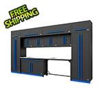 Proslat Fusion Pro 14-Piece Garage Storage Set (Blue)