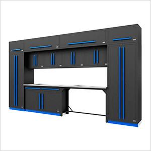 Fusion Pro 14-Piece Garage Storage Set (Blue)
