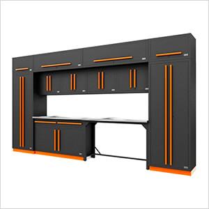 Fusion Pro 14-Piece Garage Storage Set (Orange)