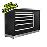 Proslat Fusion Pro Tool Chest with Stainless Steel Work Surface (Silver)