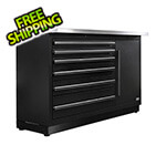 Proslat Fusion Pro Tool Chest with Stainless Steel Work Surface (Black)