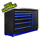 Proslat Fusion Pro Tool Chest with Stainless Steel Work Surface (Blue)