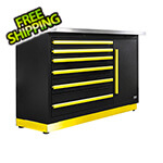 Proslat Fusion Pro Tool Chest with Stainless Steel Work Surface (Yellow)