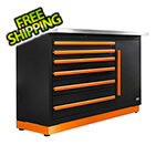 Proslat Fusion Pro Tool Chest with Stainless Steel Work Surface (Orange)