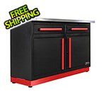Proslat 2 x Fusion Pro Base Cabinets with Stainless Steel Work Surfaces (Barrett-Jackson Edition)