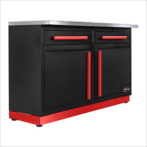2 x Fusion Pro Base Cabinets with Stainless Steel Work Surfaces (Barrett-Jackson Edition)