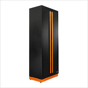 2 x Fusion Pro Tall Garage Cabinets (Orange)