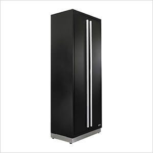 3 x Fusion Pro Tall Garage Cabinets (Silver)