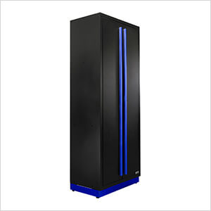 3 x Fusion Pro Tall Garage Cabinets (Blue)
