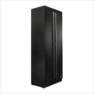 4 x Fusion Pro Tall Garage Cabinets (Black)