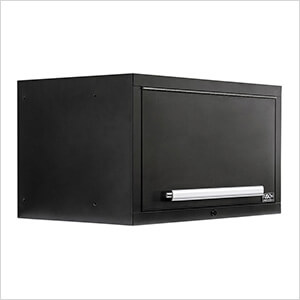 """2 x Fusion Pro Wall Mounted 32"""" Overhead Cabinets (Silver)"""