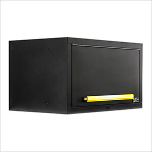 "2 x Fusion Pro Wall Mounted 32"" Overhead Cabinets (Yellow)"