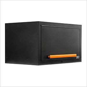 "2 x Fusion Pro Wall Mounted 32"" Overhead Cabinets (Orange)"