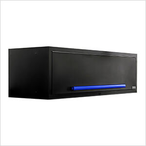 "Fusion Pro Wall Mounted 62"" Overhead Cabinet (Blue)"
