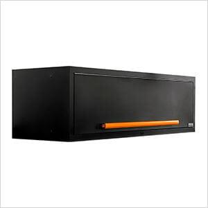 "Fusion Pro Wall Mounted 62"" Overhead Cabinet (Orange)"